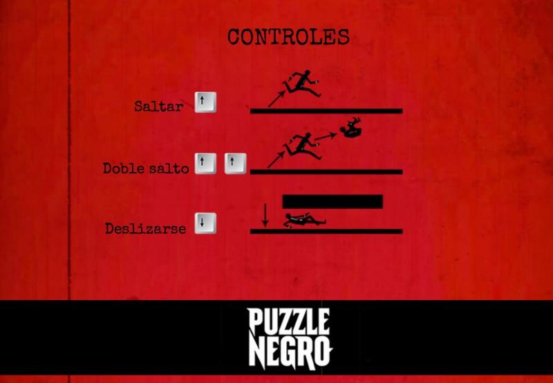 El Juego de Puzzle Negro
